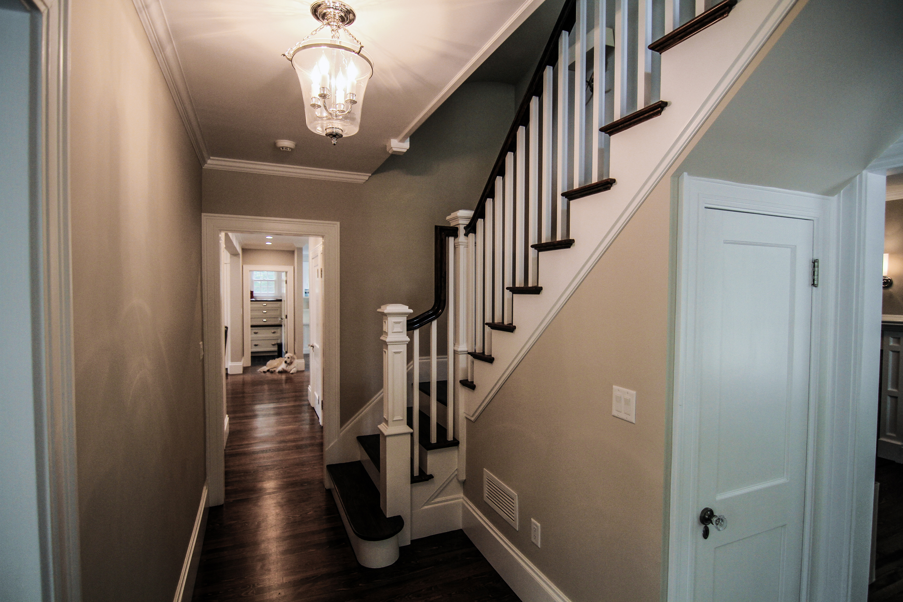 Front hall stair