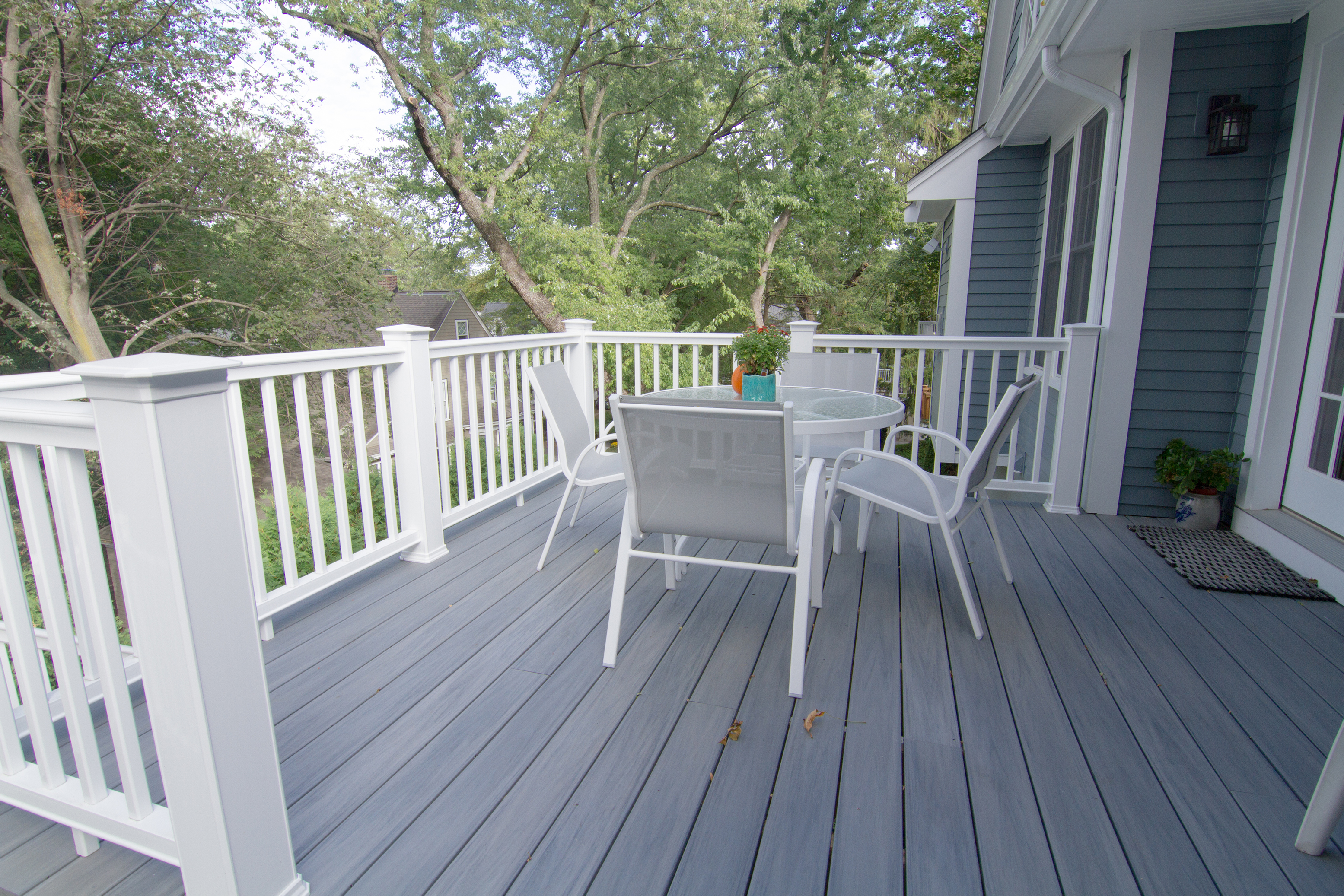 New Construction Rear Deck