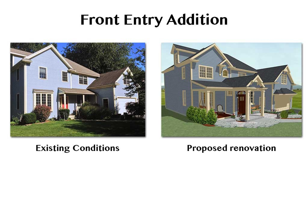 front entry remodel proposed